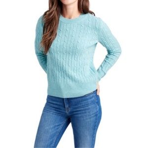 NWT Vineyard Vines Cashmere Coral Lane Sweater